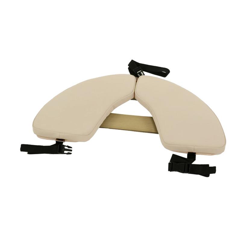 Touch America Massage Table Hanging Armrest Shelf, Almond