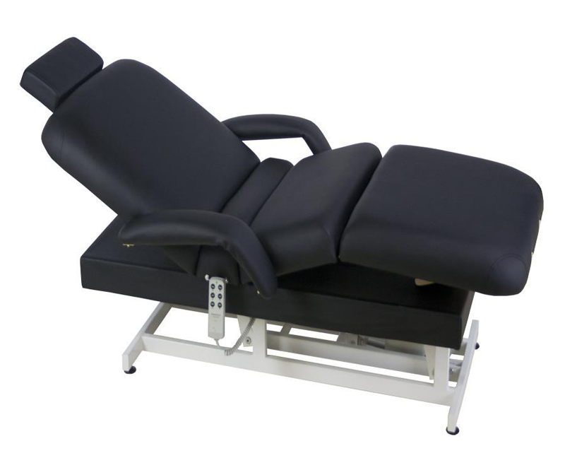 Touch America ADA Powered Lift Treatment Table, HILO POWERTILT (shown with add-on accessories not included)