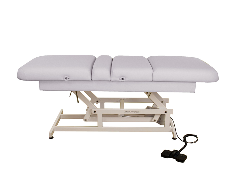 Touch America ADA Powered Lift Treatment Table, HILO MULTIPRO, Slate