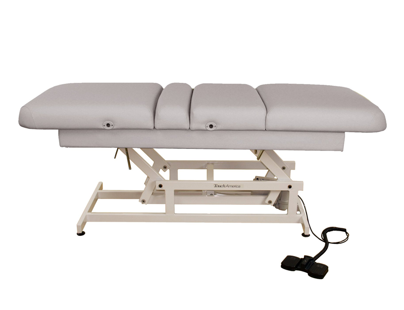 Touch America ADA Powered Lift Treatment Table, HILO MULTIPRO, Pebble