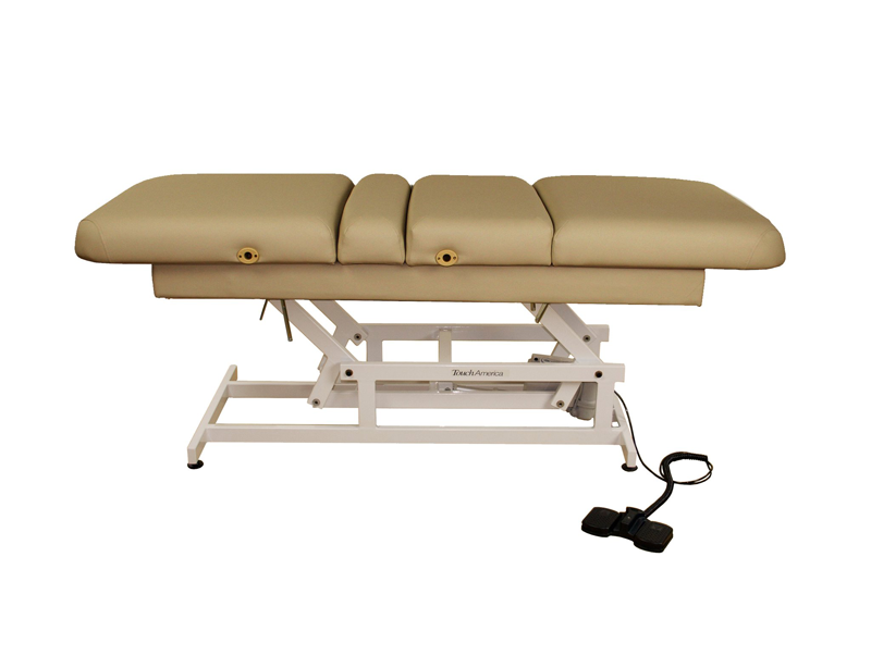 Touch America ADA Powered Lift Treatment Table, HILO MULTIPRO, Camel