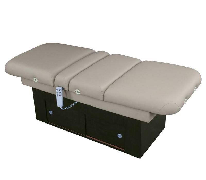 Touch America Fully Motorized Massage Table, SANYA POWER TILT, flat