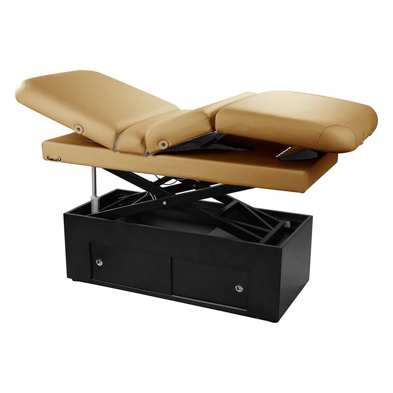Touch America Fully Motorized Massage Table, SANYA POWER TILT, Camel