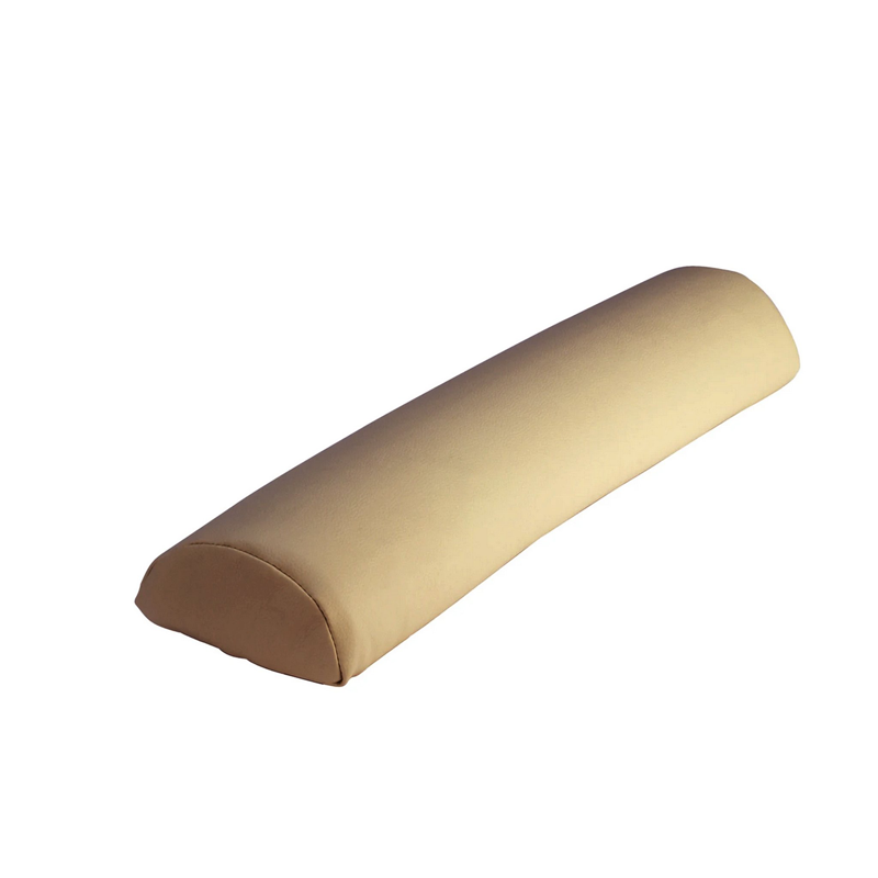 "Touch America Massage Table Bolster, HALF ROUND (27"" x 3""), Camel"