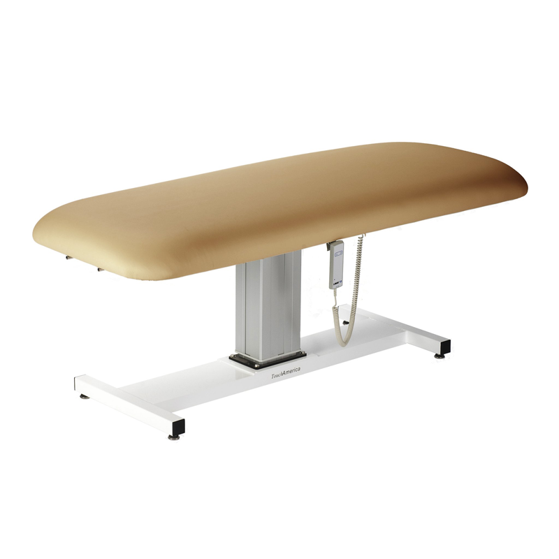 Touch America Wet/Dry Massage Table, Battery Lift Back, APHRODITE, Camel