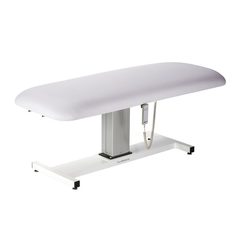 Touch America Wet/Dry Massage Table, Battery Lift Back, APHRODITE, Pebble