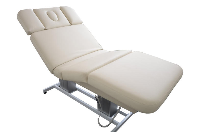 Touch America Electric Lift/Tilt Massage Table, EMBRACE, back tilted