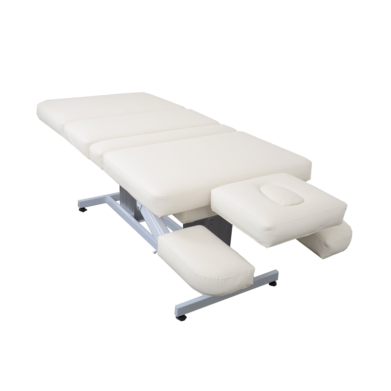 Touch America Electric Lift/Tilt Massage Table, EMBRACE, White