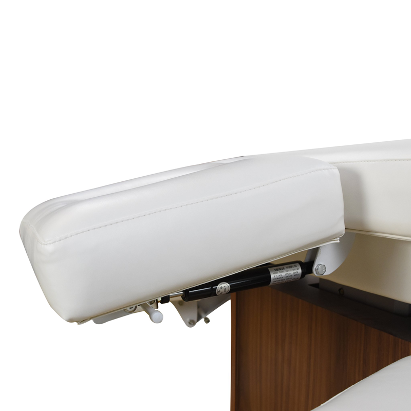 Touch America Electric Lift/Tilt Massage Table, EMBRACE, headrest side view
