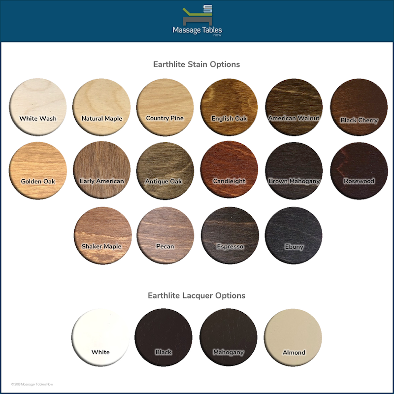 EarthLite Everest Eclipse Flat - stain options