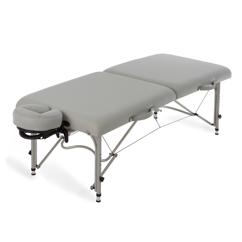 EarthLite Luna Portable Massage Table in Sterling