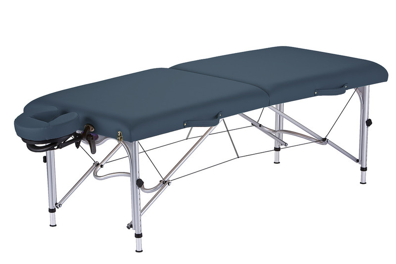 Earthlite Luna Portable Massage Table in Mystic Blue