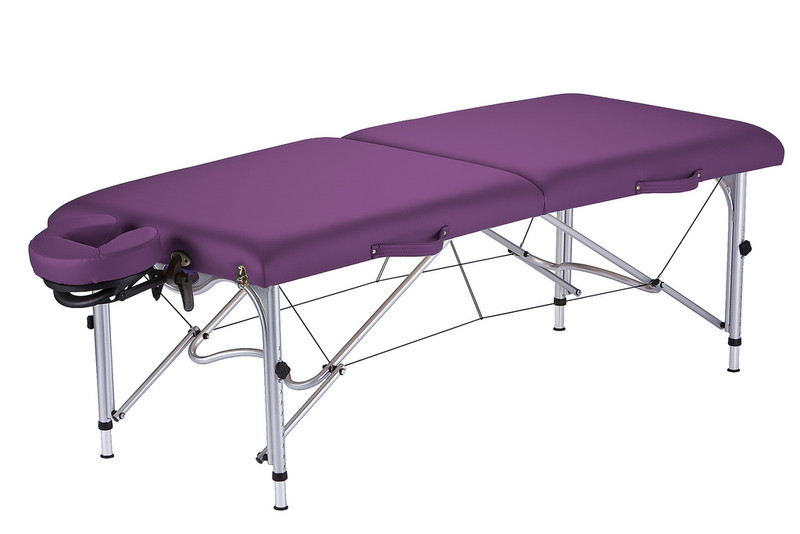 Earthlite Luna Portable Massage Table in Amethyst