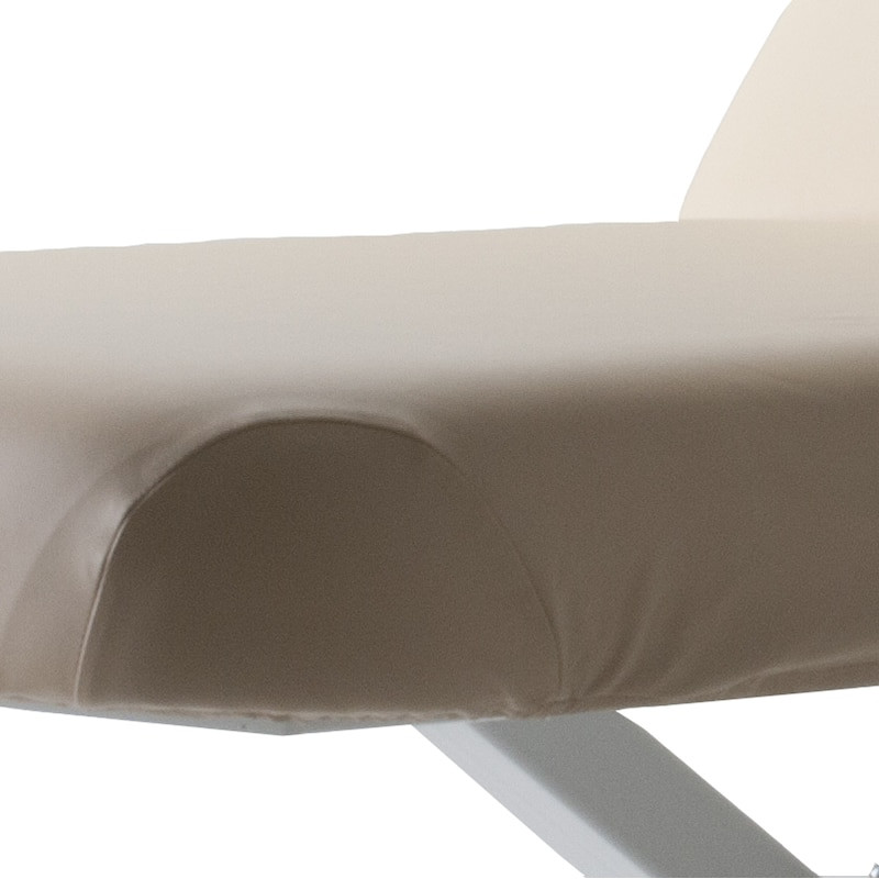 EarthLite Massage Table Cover, PROFESSIONAL corner closeup