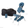 Earthlite Portable Massage Chair Package, VORTEX, dimensions