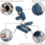 Earthlite Portable Massage Chair Package, VORTEX, features