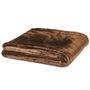 Earthlite Massage Table Blanket, Microfiber Fleece, Premium, Espresso
