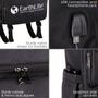 Earthlite Therapist Travel Backpack, Go-Pack, USB Charging
