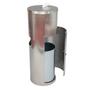 ERC Stainless Steel Wipes Dispenser, Hidden Wastebasket 2