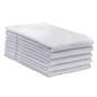 ERC Cotton Terry Towels, 16x27, Heavyweight, Premium, White