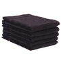 ERC Cotton Terry Towels, 16x27, Heavyweight, Premium, Black