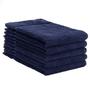 ERC Cotton Terry Towels, 16x27, Heavyweight, Premium, Navy
