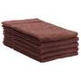 ERC Cotton Terry Towels, 16x27, Heavyweight, Premium, Brown