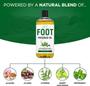 Seven Minerals Massage Oil, Foot, 16oz, Ingredients