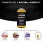Seven Minerals Massage Oil, Lavender, 16oz, Ingredients