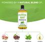 Seven Minerals Massage Oil, PEPPERMINT, 16oz, Ingredients