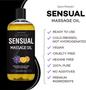 Seven Minerals Massage Oil, Sensual, 16oz, Key Features