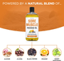 Seven Minerals Massage Oil, Sore Muscle, 16oz, Ingredients