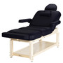 Custom Craftworks Aura Deluxe Massage Table, Black