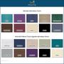 Custom Craftworks Mckenzie Lift Back Electric Massage Table-color chart