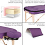 Earthlite Infinity Conforma Portable Massage Table features