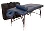 Oakworks Portable Massage Table, Aluminum Base, WELLSPRING Professional Package