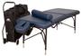 Oakworks Portable Massage Table, Aluminum Base, WELLSPRING Traveler Package