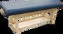 Custom Craftworks Classic Series Massage Table, TAJ MAHAL BASIC with Shelf