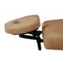 Touch America Massage Table Cradle & Pillow, Contour FaceSpace, Camel