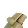 Touch America Treatment Table Salon Head/Footrest & Neck Bolster, Camel