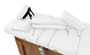 Touch America Massage Table High-End Accessory Package, White