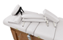 Touch America Massage Table High-End Accessory Package, Pebble