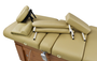 Touch America Massage Table High-End Accessory Package, Camel