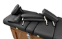 Touch America Massage Table High-End Accessory Package, Black