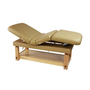Touch America Stationary Treatment & Massage Table, MULTIPRO, Camel
