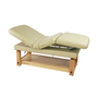 Touch America Stationary Treatment & Massage Table, MULTIPRO, Almond