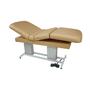 Touch America Dual-Pedestal Treatment Table, ATLAS Classic, Camel