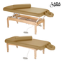 Touch America ADA Powered Lift Massage Table, OLYMPUS, Camel