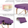 Earthlite Portable Massage Table, INFINITY features