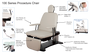 Oakworks Medical and Spa Procedure Chair 100 Series, Features